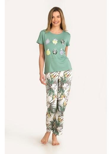 Nbb Pijama Takım Yeşil